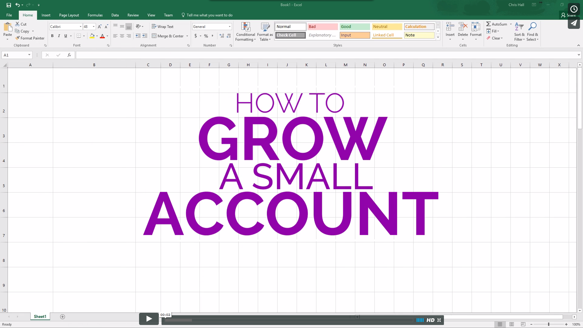 How to Grow A Small Account